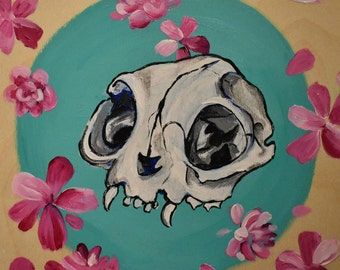 Cat scull painting