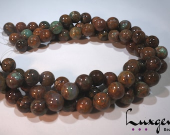 Rhyolite - 10mm, 14mm, 16mm - Round beads - Natural gemstone - Manufacture offers - RY001/RY002/RY003