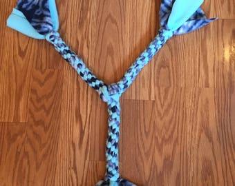 Fleece rope 3-way dog toy - Large / Extra Large
