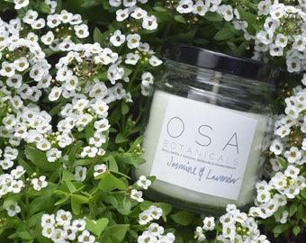 Jasmine & Lavender Beeswax Candle