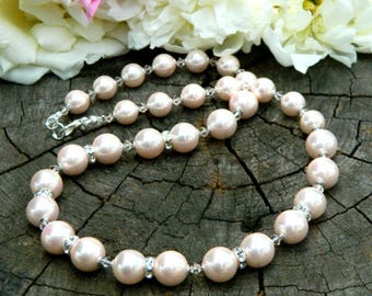 cream ivory|pearl|beaded bohemian bridal necklace jewelry gift|for|her womens|gift|for|wife girlfriend|gift|for|mother of the bride jewelry