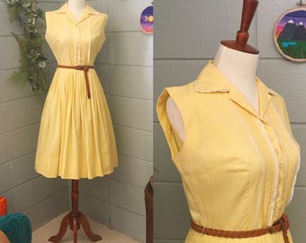 1950's JohnnyE Junior Fit and Flare Dress