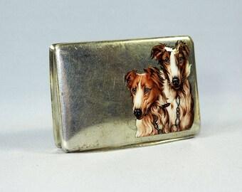 Art Deco Silver & Enamel Box