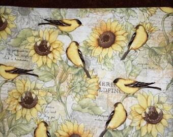 Gold Finch Pillowcase
