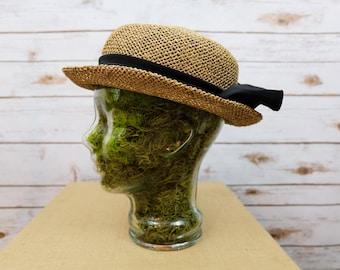 Vintage Straw Hat Women's Sun Hat Woven