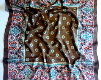 Beautiful colored vintage scarf
