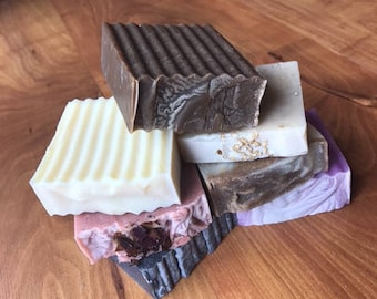 Sota Soap Company Custom 2 Pack, You Pick Two, All Natural Soap, Handmade, Palm Free, Cruelty Free