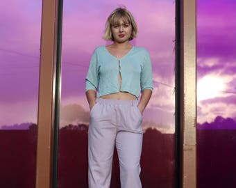 90s Lilac Pants