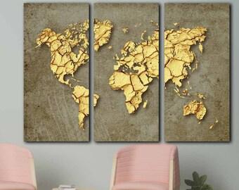 Abstract world map etsy abstract world mapworld poster largelarge atlas canvasworld mapsworld gumiabroncs Images