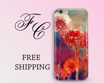 Blowball Floral iPhone 7 Plus Case Floral iPhone 6 Case Floral iPhone 6s Case Floral iPhone 7 Case  iPhone 6 Plus Case iPhone 5s Case cfc