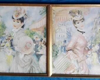 Frederick John Lloyd Strevens-women in Paris!! Print it!!