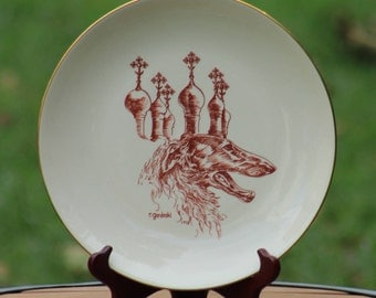 Borzoi Club of America Decorative Plates