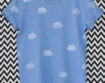 SHIRT clouds / / CLOUDS / / unisex / / xs-xl / / organic organic fair trade