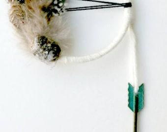 Healing Crystal Decor Turriella Crystal Reiki Holistic Gift Rustic Decor Rustic Pagan Gift Arrow Decor Boho Gift Dream Catcher Gypsy Health