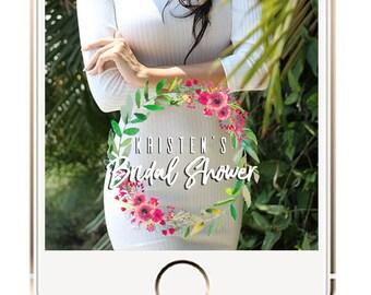 Bridal Shower Snapchat Geofilter, Bridal Party Shower Snapchat Geofilter, Wedding Snapchat Geofilter, Geofilter, Bridal Shower Ideas