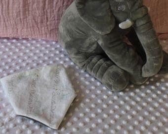Dumbo - Sweet Dreams Little One - Bandana Bib