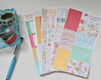 Summer Blossoms - Classic Happy Planner Weekly Kit