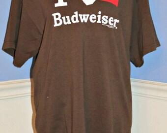 Budweiser Lace Up T-Shirt