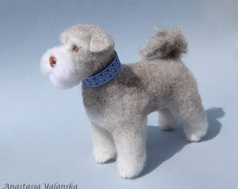 Little Louie, needle felted - made to order