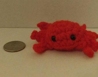 Crochet Amigurumi Crab