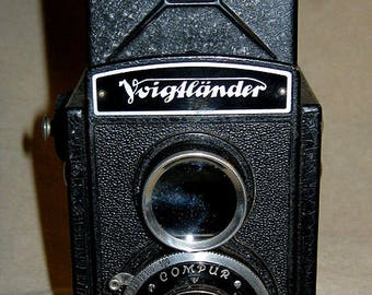 Voightlander Brilliant Pseudo Twin Lens Reflex (TLR) Camera