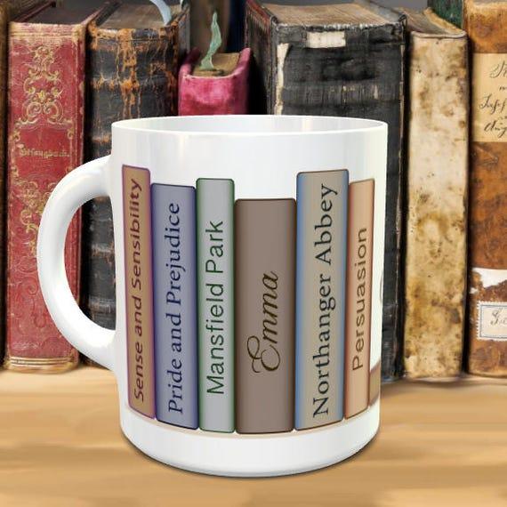 Resultado de imagen de sense and sensibility mug