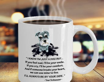 Schnauzer gifts - I am just a dog - Ceramic Cozy Cup