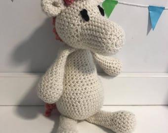 Crocheted Unicorn *Handmade*
