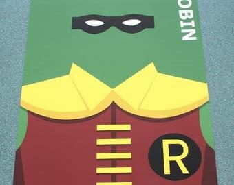 Beautiful poster minimalist Robin.