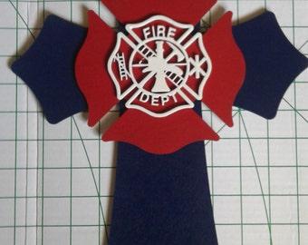 Firefighter Cross