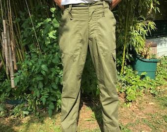 Pantalon MILITAIRE ANGLAIS VINTAGE 80s
