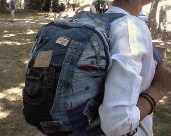 Jeans Denim backpack