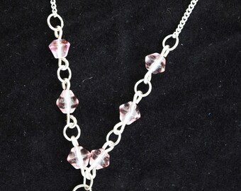 Crystal and Glass Vintage Style Necklaces various colours