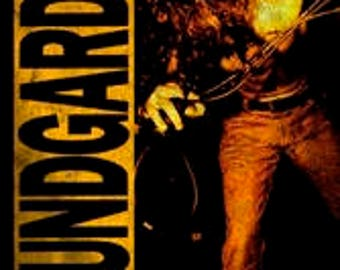 Soundgarden Chris Cornell Louder Than Love Poster