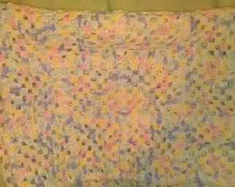 Grannny Square Baby Blanket