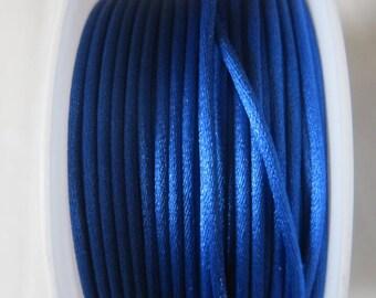 Blue, 2 mm SATAB n 224 rat tail