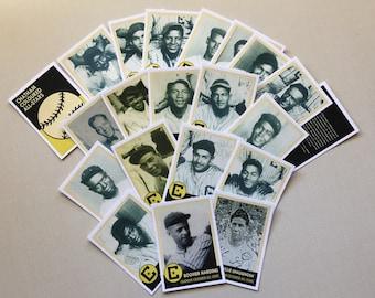 Chatham Coloured All-Stars  (1932-1939) baseball cards