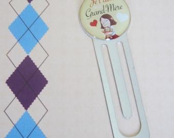 "Mother grandmother - gift for Grandma: bookmark ""I love Grandma"""