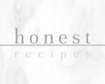 Honest Recipes