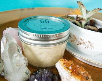 Organic Body Butter- Honey Chamomile 4oz