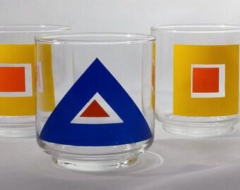 Geometric glassware