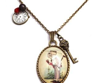 Mister skeleton necklace