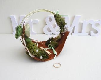 Country style wedding Bohemian, nature, kingfolk - accessories-bearer wedding idea for wedding