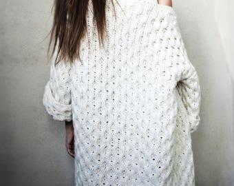 SALE Cardigan 100% wool