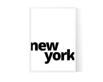 New york poster  Nyc print  New york print  Nyc poster  Nyc wall art  Nyc art  New york wall art  New york printable  New york art  Poster