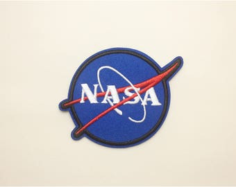 Nasa patch - space patch, astronaut patch, blue patch, badge patch nasa, iron on patch nasa, embroidered patch nasa, patch nasa, backpack
