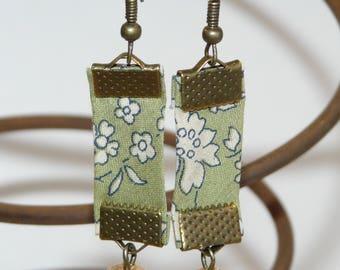 Liberty Capel green earrings