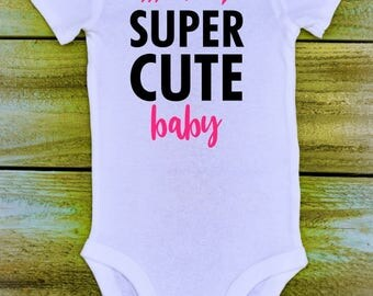 Super Cute Baby Onesie - Customizable - Multiple Sizes - Boys & Girls