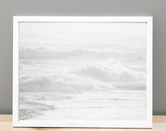 Black and White Beach Printable Art