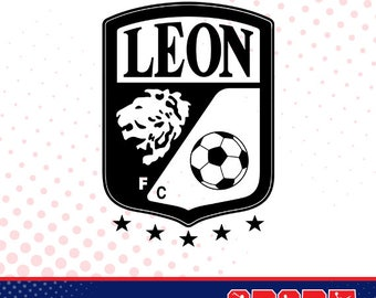 Leon silhouette, sport silhouettes, Soccer silhouette SS-SO-028